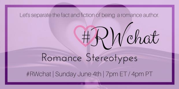 romance writer chat RWchat romance stereotypes june 4
