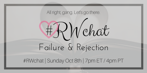 romance writer chat topic failure rejection