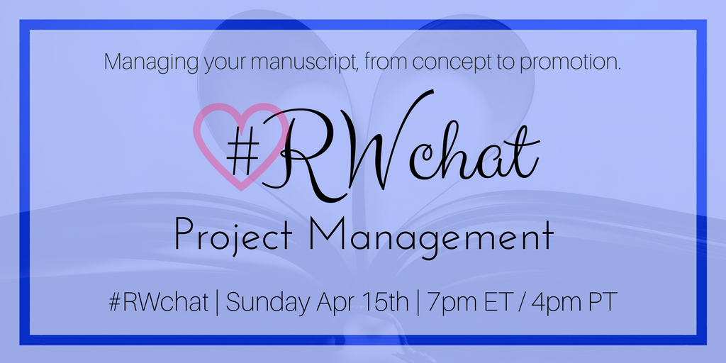 romance writers chat topic project management