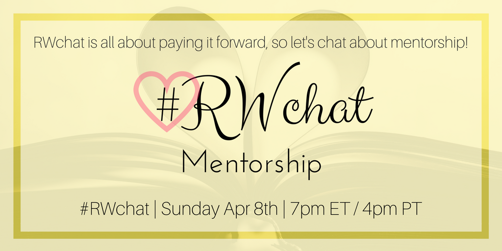 romance writers chat topic mentorship